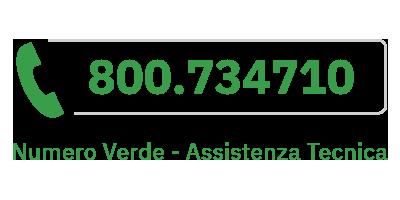 Numero Verde 800 734 710